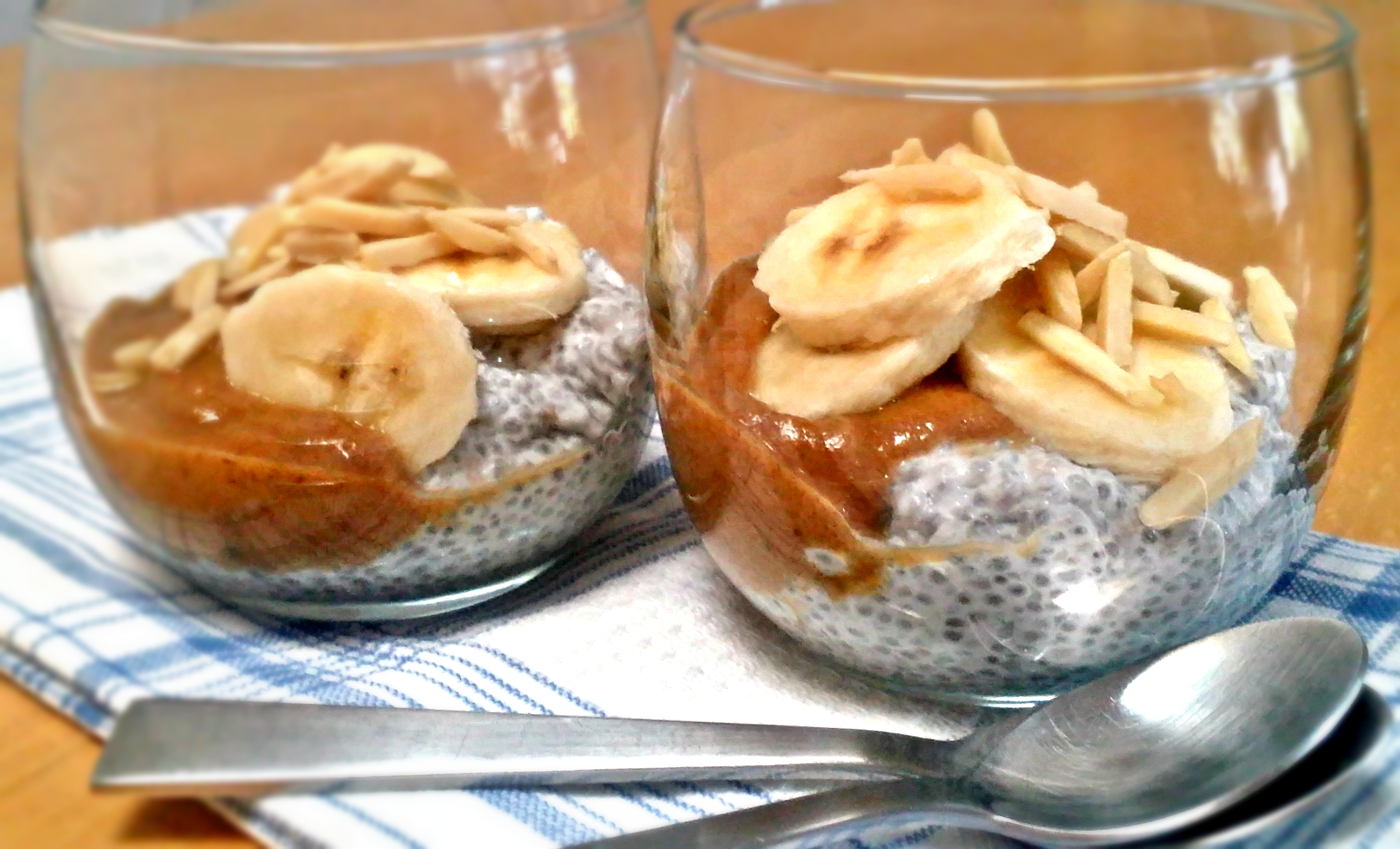 Banoffee Chia Pudding